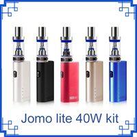 Jomo Lite 40 3 ML Vapor Tank E Zigaretten Kits Box Mod Lite 40 Watt Vapor Mod Kit VS Vape Kanger Subox Mini Kit 0268056 DHL