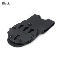 Plate-forme Airsoft Tactical Drop Pistol pour système de montage GC G17 1911 Plateforme pour étui suspendu à la taille pour chasse CL7-0081