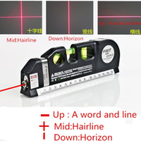 Multipurpose Level Laser Horizon Vertical Measure Tape Align...