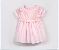 Kids Girls Clothes Pink Princess Dresses Lace Floral Short S...