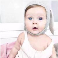 Winter Warm Baby Konijnen Oren Gebreide Hoed Zuigeling Bunny Caps voor Kinderen 0-2T Meisje Jongen Beanie Petten Photography Props