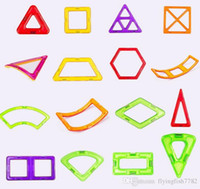 bulk wholesale magnetic building blocks creator carnival set rainbow colors magnet block toys for kids christmas gift
