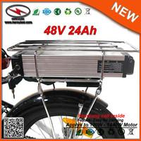 1000W 자이언트 자전거에 대한 E 자전거 배터리 랙 48V 24AH 리튬 이온 리튬 이온 전기 자전거 배터리 48V 삼성 배터리 팩