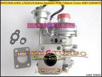Turbocompresseur de Turbo de RHF3 CK40 1G491-17010 1G491-17011 1G491-17012 Turbo pour l'excavatrice de Kubota PC56-7 Bobcat Tracteur 4D87 V2403-M-T-Z3B