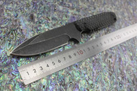 Bailian stider tad duk3 ثابت بليد سكين gb-d2 شفرة الحفرة g10 مقبض التخييم الصيد التكتيكية edc سكين kydex غمد
