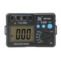 Freeshipping HD HDT20A 절연 저항 테스터 미터 Megohmmeter 전압계 1000V LCD 백라이트