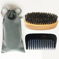 Beard Brush Pocket Comb Wide Tooth Horn Comb Small Beard Han...