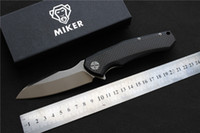 Free shipping, MIKER Redesign ZT0850 Folding knife Blade: D2(s...
