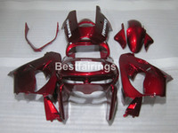 Kit de carénage en plastique à ventes pour Kawasaki Ninja Ninja ZX9R 98 99 Vin Red Boodwork Coroins de carénage Set ZX9R 1998 1999 TY21