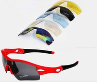 5 lens  set Men Women Cycling Glasses UV400 Outdoor Sports W...