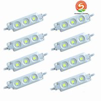 Super Bright LED Módulos 6500K Cool White SMD 5630 / SMD 5050 RGB LED Chip wateproof IP67 R / G / B / Warm White 12V Led Publicidade Luz
