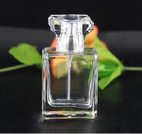 Glassprühflasche 30ml Transparentes leerer nachfüllbarer Parfüm-Flaschen Zerstäuber