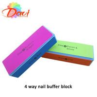 30 шт/много Новый стиль ногтей буферный блок для ногтей пилочка для ногтей буфера польский гладкой с 4-х сторон