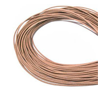 100 Meters 1.5mm Natural Leather cord Round Genuine Leather Cord, Necklace & Bracelet Real Leather Cord