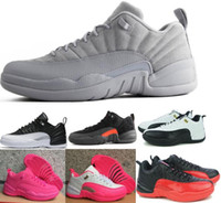 Hot 12 XII Low Basketball Shoes Sneakers Women Men Taxi Play...
