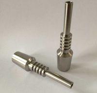 Titanium Tip Nectar Collector Domeless Titanium Nail 10mm 14...