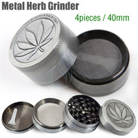 New Metal Herb Grinder 4 Pieces Layer Cheap Tobacco Grinders...