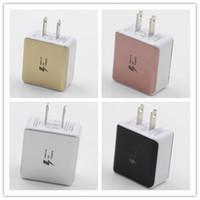 Dual USB Зарядные устройства Быстрая Зарядка 5 В 2.1A США Plug Адаптер переменного тока Для Samsung Универсальный Смартфон Бесплатный DHL 4 Цвет