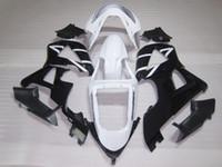 Kit de carénage de moulage par injection pour Honda CBR900RR 00 01 carénage noir blanc set CBR929RR 2000 2001 OT04