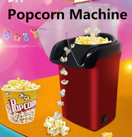 EU Plug   US Plug Home 220V Mini Red Electric Popcorn Machin...