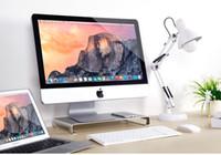 Großhandel 1 Bilder Universal Laptop Desktop PC Bildschirm Steht Basis  Halter Aluminiumlegierung Für Macbook Pro Air