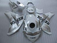 Fit 100% moldeado por inyección para los carenados de plata blanca HONDA CBR1000RR 2008-2011 CBR1000RR 08 09 10 11 OT16