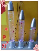 Wasserlampe Yudeng Meer Schatten Lampe Aquarium Fisch Panzerfaust 40cm Trompete Kugel Zylinder kreatives Geschenk