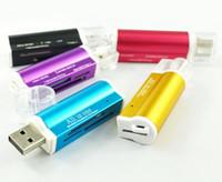 Yeni USB 2.0 Hepsi 1 Çoklu Hafıza Kartı Okuyucu için T-Flash MMC TF M2 Memory Stick