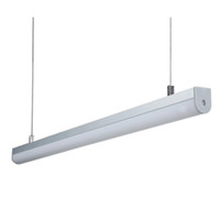10 X 1M sistemas / porción de canal de aluminio AL6063 para la iluminación de tira llevada y perfil de aluminio anodizado llevado para el techo o colgante de iluminación