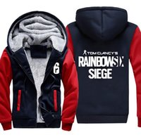 Mens Casual Game Tom Clancy' s Rainbow Six Siege Hoodies...