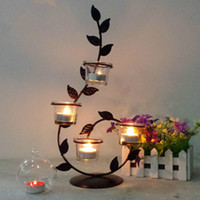 Ethnic Roses Candle Holders Romantic Candlelight Dinner, Wro...