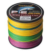 Dolphin168 Brand 300M PE Multifilament Braid Fishing Line 8 ...