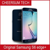 """100% Оригинал Samsung Galaxy S6 Edge Plus G928F G928P OCTA CORE 4GB RAM 32GB 4G LTE Разблокированный мобильный телефон 5.7 """"16 MP Android 6.0"""