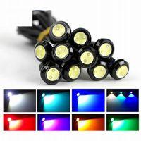 품질 자동차 LED 조명 18mm 23mm 독수리 눈 자동차 DRL 낮 실행 빛 꼬리 주차 일광