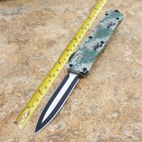 9. 5 inches(24CM) combat scarab troodon auto knives hunting t...