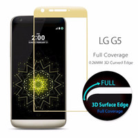 High Quality Tempered Glass 3D Curved Full Coverage For LG G...
