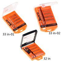 Nuovo 32 in 33 in 1 Set di cacciaviti PC Hard Drive Printer Shaver Repair Kit Tools ZZB00398