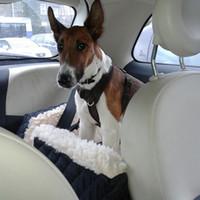 الأكثر مبيعا ، promition كبير. الحيوانات الأليفة سلة سيارة الداعم مقعد السيارة شنقا بطانية سرير محمول حقيبة الكلب