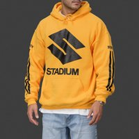 Justin Bieber Purpose Tour Stadium Hoodie Men Women Yellow P...
