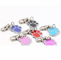 Wholwsale High Quality 6 Color Footprint Type Pet Dog Cat Ta...