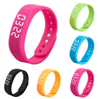 T5 3D Pedometer LED Digital Wrist Watch Outdoor Sports Water...