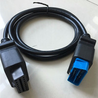 2019 PROMOÇÃO melhor escolha OBD2 Cabo de interface de cabo de extensão de diagnóstico OBD II OBD2 16 pinos Conector de 16 pinos para 16 pinos