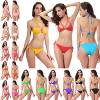Women' s Clothing Swimwear Biquini low- priced Vintage Th...