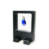 2pcs all'ingrosso display multifunzionale di gioielli in miniatura orecchino anello collana espositore chiaro accessori scatola di visualizzazione 7 * 9 cm