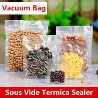 22x32cm 0. 16mm Vacuum Nylon Clear Cooked Food Saver Storing ...