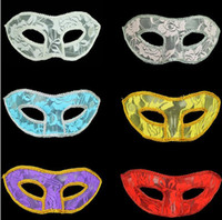 European and American lace masks Halloween party masks party...