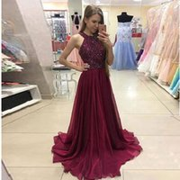 Newest High Quality Crystal Prom Dress Beaded Jewe Spaghetti...