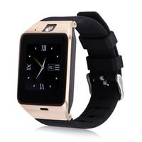 GV18 Smart Bluetooth Uhr mit Kamera Bluetooth Armbanduhr SIM-Karte Smartwatch für iOS Android Phone Support Hebräisch