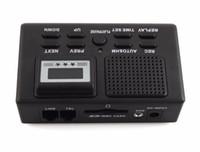 Display LCD Telefono Voice Recorder Phone Call monitor con cavo registratore telefono automaticamente telefono registrare le chiamate di sostegno SD nero