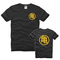 Classico Anime Dragon Ball T Shirt Uomo manica corta Cotone moda Cool Son  Goku T- d65662f9641d